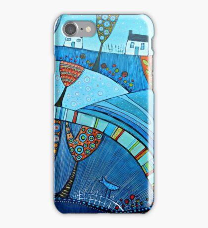 Blue birds iPhone Case/Skin