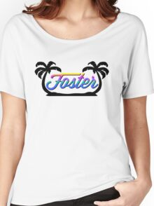 Foster (Paradise) Women's Relaxed Fit T-Shirt