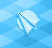 Paper Airplane 63 by YoPedro