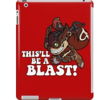 This'll Be A Blast! iPad Case/Skin