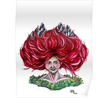 Hair Peaks Poster