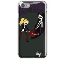 Buffy vs. Marceline iPhone Case/Skin