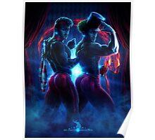 David Kawena's Circus Freaque - Twins Poster