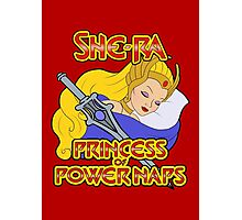 She-Ra, Princess of Power Naps Photographic Print