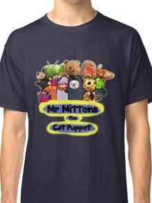 Mr Mittens the Cat Puppet V1 Classic T-Shirt