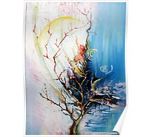 Original Landscape Tree Abstract Painting Modern Contemporary Fine Art  Poster