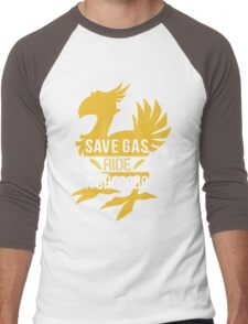 Save Gas Ride a Chocobo Men's Baseball ¾ T-Shirt