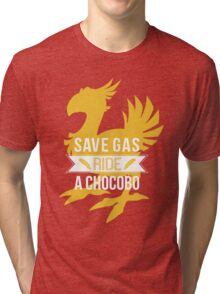 Save Gas Ride a Chocobo Tri-blend T-Shirt