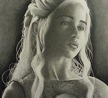 Daenerys Targaryen by yoitslinds