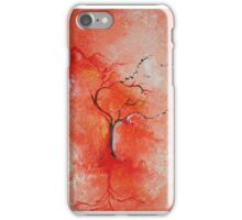 Season Change Original Tree Abstract Painting Modern Contemporary Fine Art iPhone Case/Skin