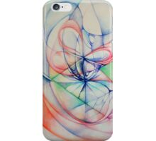 """""""Gentle"""" Original Abstract Painting Modern Contemporary Fine Art iPhone Case/Skin"""