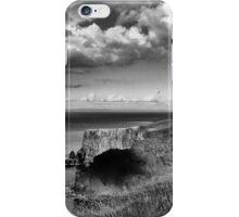 Beautiful clouds at the Cliffs iPhone Case/Skin