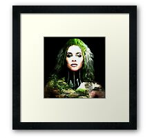 BEST NOT TO MESS WITH MOTHER NATURE Framed Print