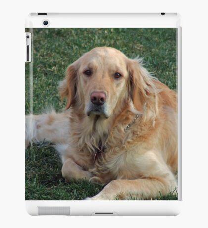 Gracie on Guard iPad Case/Skin