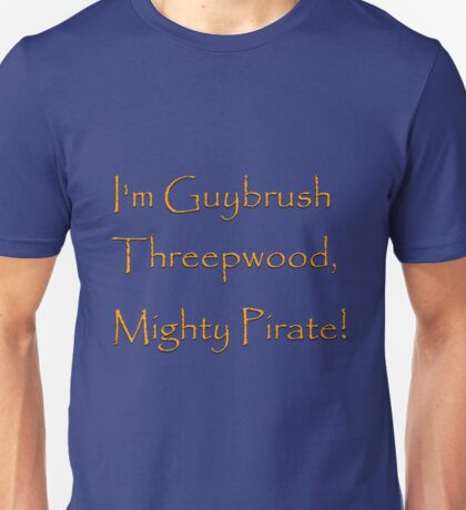 I'm Guybrush Threepwood, Mighty Pirate! Unisex T-Shirt