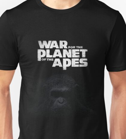 War For The Planet Of The Apes 2017 Unisex T-Shirt
