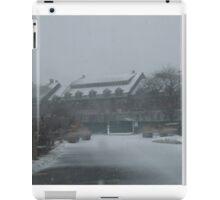 weekapaug inn - snow storm iPad Case/Skin