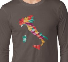 Geometric Italy Long Sleeve T-Shirt