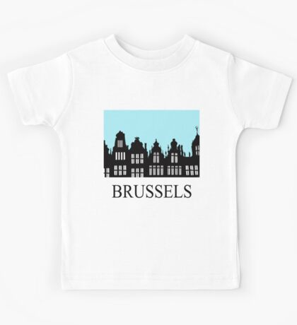 Brussels Grand Place / Grote Markt Kids Tee