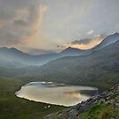 Snowdonia: Last Light over Snowdon by Rob Parsons