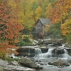 Glade Creek Mill by dc witmer