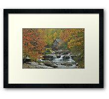 Glade Creek Mill Framed Print