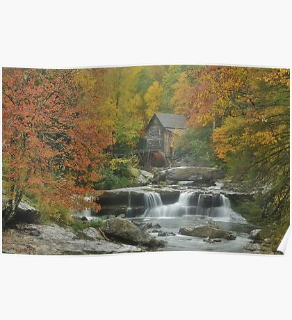 Glade Creek Mill Poster