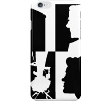 The Doctor and his companion iPhone Case/Skin