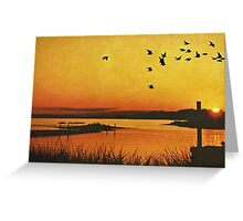 On the Lonely Shore Greeting Card