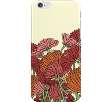 The Retro Garden Flowers iPhone Case/Skin