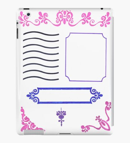 Front Cover iPad Case/Skin