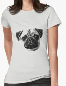 Happy Dog Engraving T-Shirt