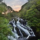 Snowdonia: Final Light at Swallow Falls by Rob Parsons