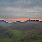 Snowdonia: Snowdon Sunset by Rob Parsons
