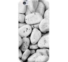 White stones with black spots iPhone Case/Skin