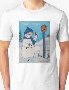 Snowman - Dimples the Snowman T-Shirt