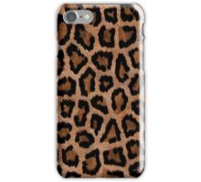 Brown Animal Print iPhone Case/Skin