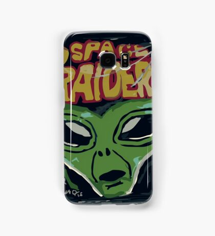 10p Crisps - Space Raiders Samsung Galaxy Case/Skin
