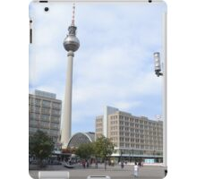 TV tower an Alexanderplatz, Berlin, Germany iPad Case/Skin