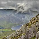 Snowdonia: Tryfan with it's Head in the Clouds by Rob Parsons