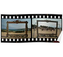 Framed - Two Views,Sculptures By The Sea 2011 Poster