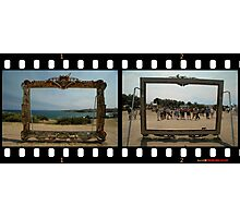 Framed - Two Views,Sculptures By The Sea 2011 Photographic Print