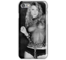 Zoe in Chains iPhone Case/Skin