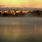 Spring Sun Rise at Lake Burley Griffin (Canberra/ACT/Australia) (2) by Wolf Sverak