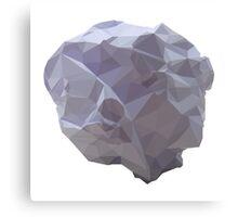 Polygon Paper Meteorite Canvas Print