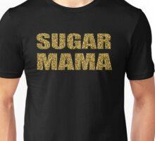 SUGAR MAMA gold glitter design Unisex T-Shirt