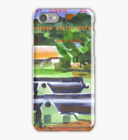Battle of Pilot Knob iPhone Case/Skin