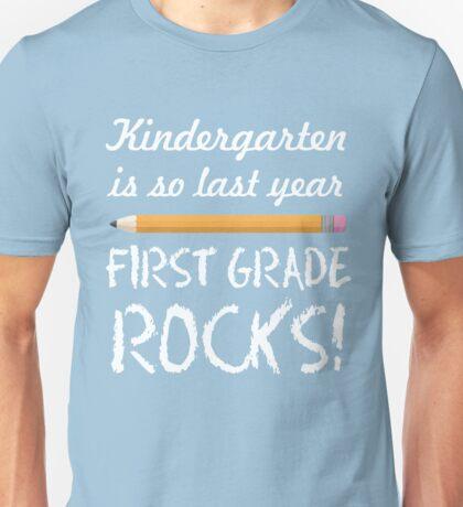 First Grade Rocks Teacher Unisex T-Shirt