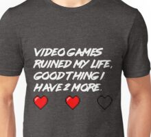 The life of gamers Unisex T-Shirt