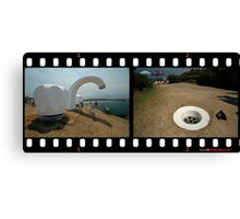 Taps & Drain @ Sculptures By The Sea  Canvas Print
